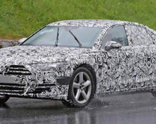 Audi тестирует обновленный седан A8 (ФОТО)