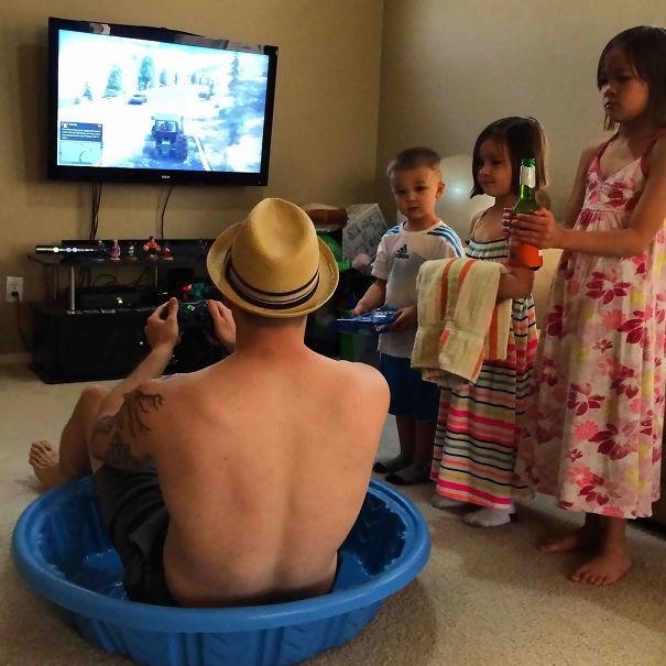 20 причин, почему детей нельзя оставлять наедине со своими папами (ФОТО)