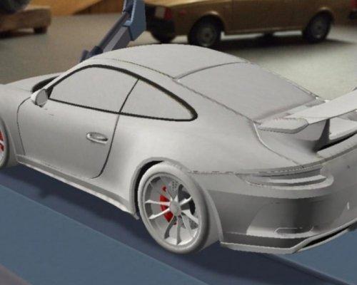 В Сети появились изображения обновленного Porshe 911 GT3 (ФОТО)