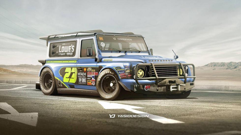 В Сети появился первый рендер Land Rover Defender (ФОТО)