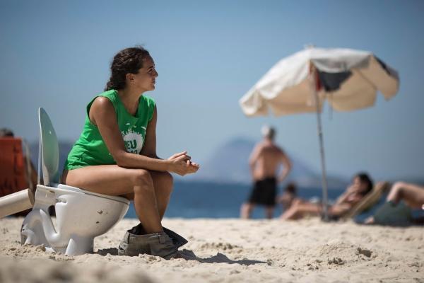 В голову напекло. Подборка пляжных приколов (ФОТО)