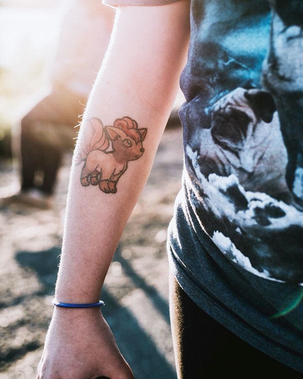 20 татуировок для истинных фанатов покемонов (ФОТО)