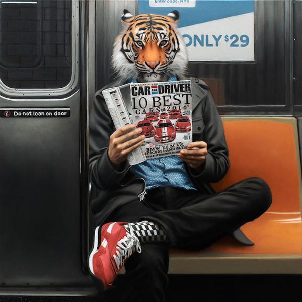 """""""Городские джунгли"""": яркий проект от  настоящего мастера перевоплощений (ФОТО)"""