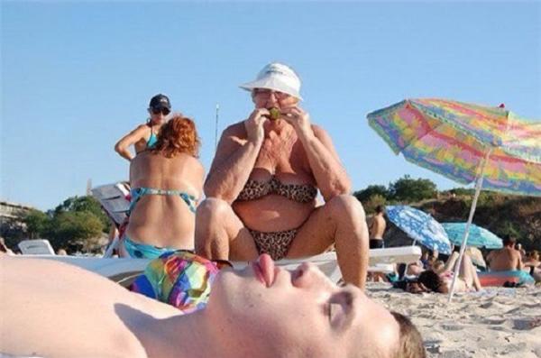 Бомба летнего сезона! Сумасшедшие пляжные персонажи (ФОТО)