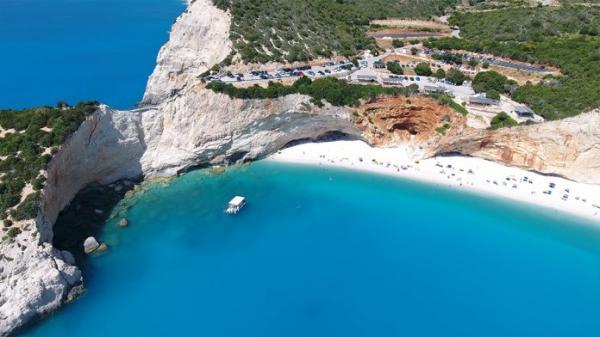 Порто Кацики - уединенный пляж на греческих островах (ФОТО)