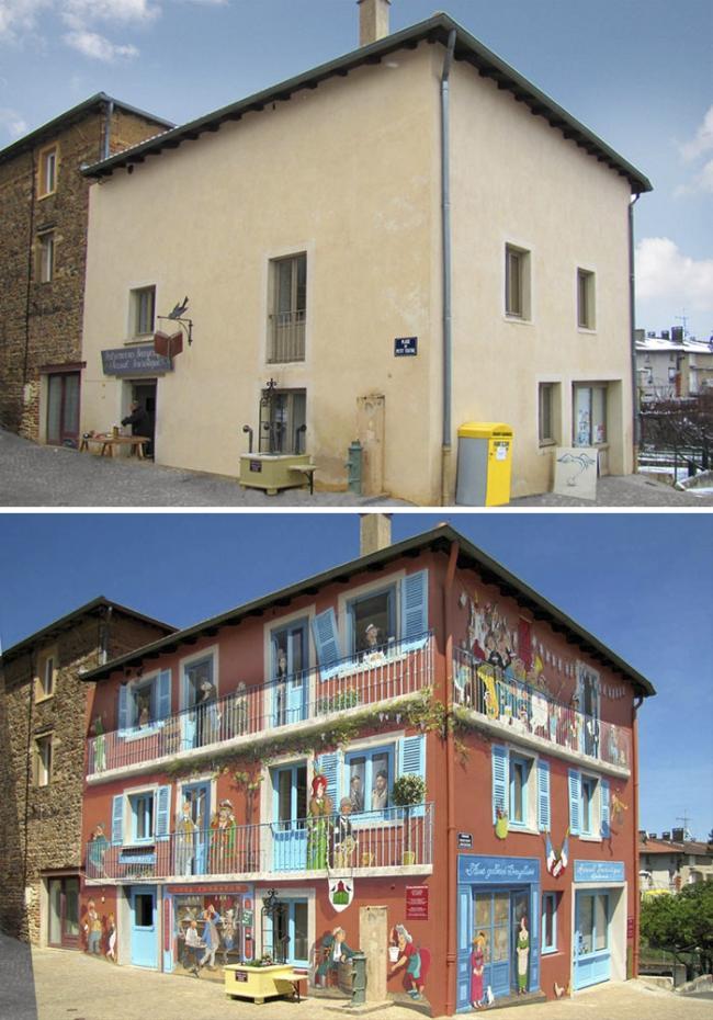 Художник превращает скучные стены города в невероятные картины (ФОТО)