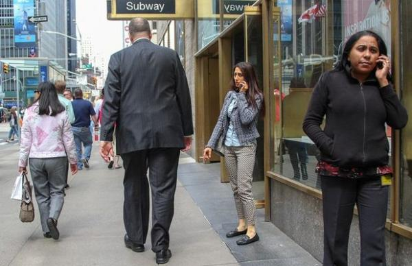 Тихо и безмятежно: новая жизнь города Нью-Йорка (ФОТО)