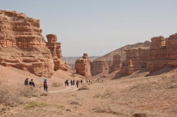 Жемчужина природы: великий каньон в Центральной Азии (ФОТО)