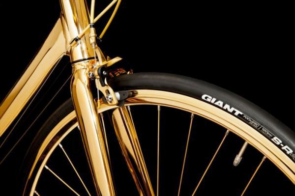 Роскошь на двух колесах: самый дорогой велосипед в мире (ФОТО)