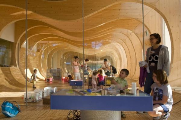 Все лучшее – детям. Экологичный детский сад в Италии (ФОТО)