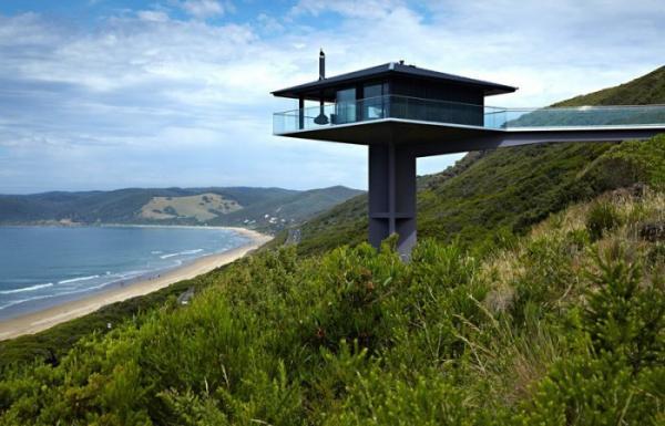 Дом над автострадой: эффектный проект дизайнеров из Австралии (ФОТО)