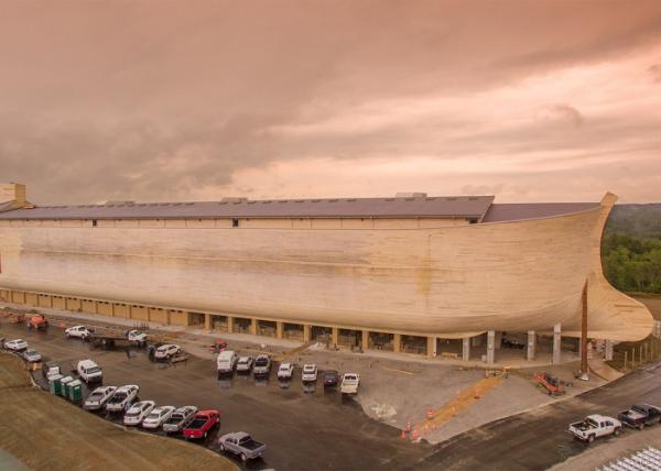 Копия Ноева Ковчега: самое крупное здание с деревянным каркасом в мире (ФОТО)