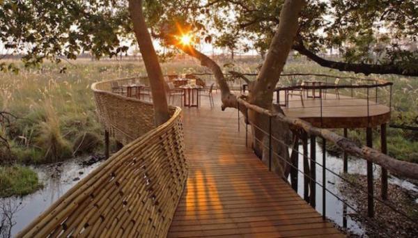 Оригинальный коттедж в дельте реки – идеальное место для побега в дикую природу (ФОТО)