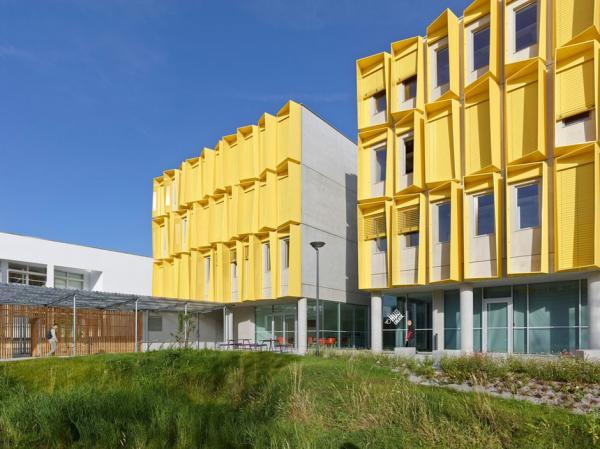 Необычная архитектура: офис, построенный по принципу пчелиного улия (ФОТО)