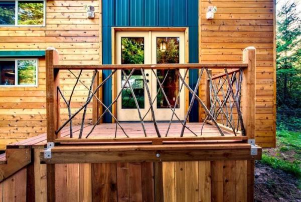 Польза инженерного образования: функциональный домик площадью всего 19 кв. метров  (ФОТО)