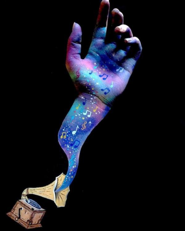 Боди-арт с оптической иллюзией: впечатляющие работы молодой художницы (ФОТО)