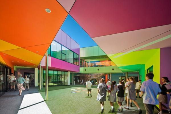 """""""Мозаика внутри круга"""": необычный научно-образовательный центр в Австралии (ФОТО)"""