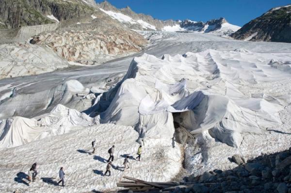В Альпах скоро исчезнут ледники - ученые (ФОТО)