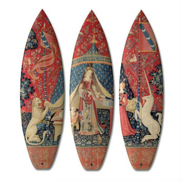 Искусство на гребне волны: необычные доски для серфинга (ФОТО)