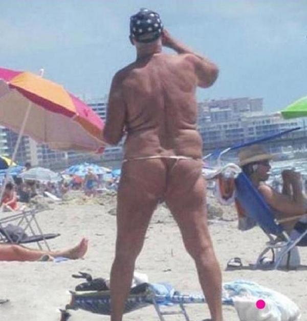 Пляжные модники, которым плевать на мнение окружающих (ФОТО)
