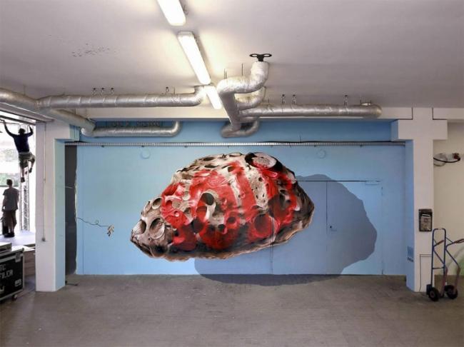 Невероятно реалистичные 3D-граффити, на которые вы посмотрите дважды (ФОТО)