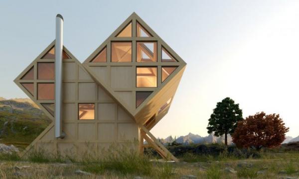Образец асимметричной архитектуры от дизайнера из Украины (ФОТО)