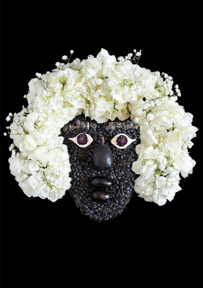 Художник создает потрясающие портреты из овощей и фруктов (ФОТО)