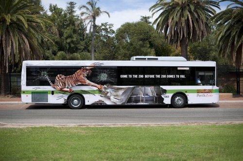 Креативная реклама на автобусах (ФОТО)