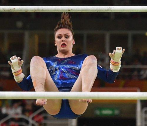 Курьезные лица спортсменов во время выступлений (ФОТО)
