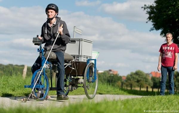 В Германии создали велосипед для слепых (ФОТО)