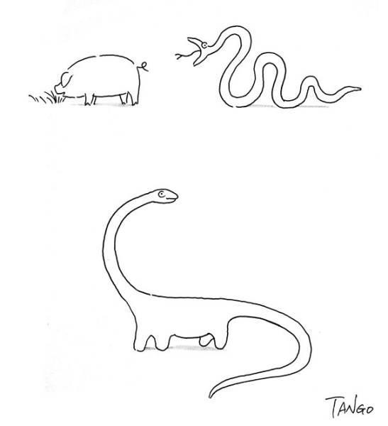 Необычные комиксы от иллюстратора Шанхай Танго (ФОТО)