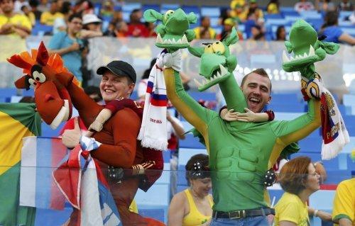 Самые яркие и необычные болельщики ОИ-2016 (ФОТО)