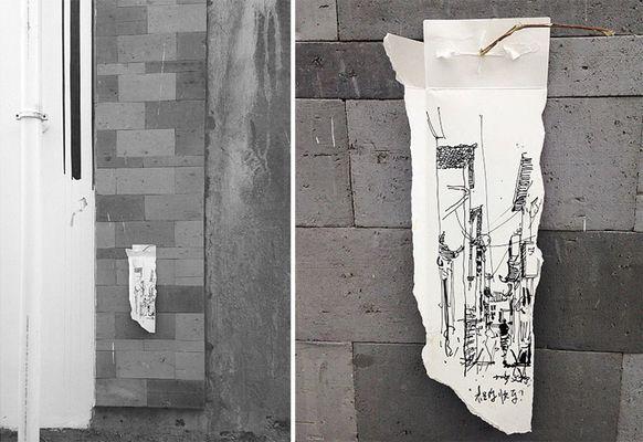 Красота сквозь грязь: необычные картины китайской художницы (ФОТО)