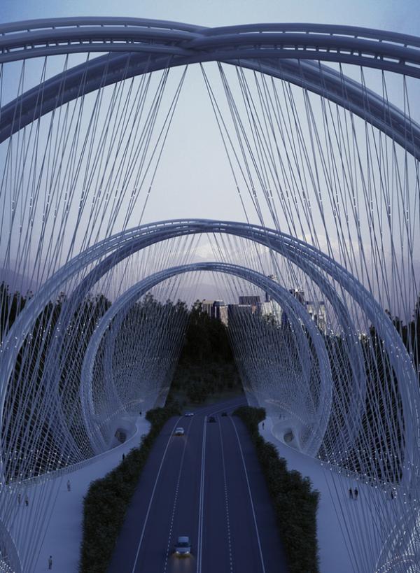 Чудо инженерной мысли: олимпийский мост в Китае (ФОТО)