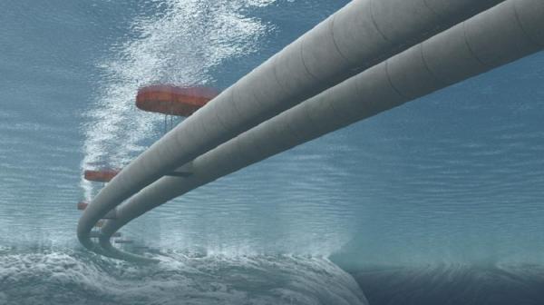 Шаг в будущее: в Норвегии построят плавучие туннели для автомобилей (ФОТО)