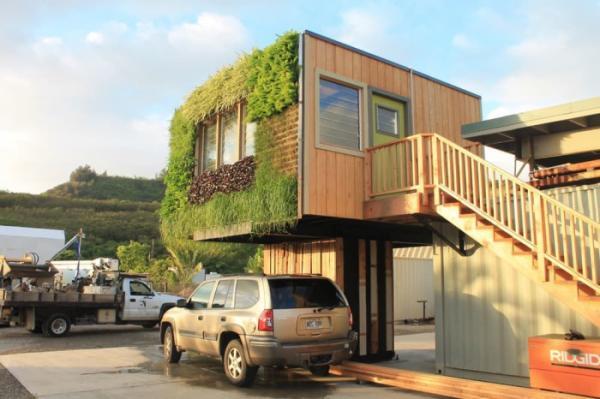 Домик на постаменте: оригинальное жилье на Гавайских островах (ФОТО)