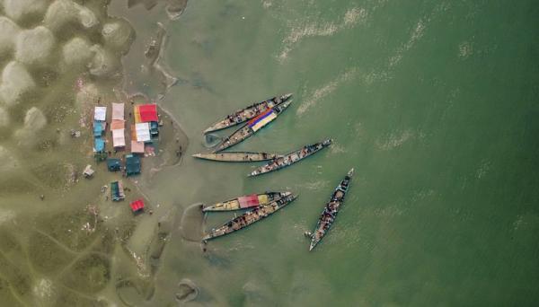Бангладеш с высоты птичьего полета (ФОТО)