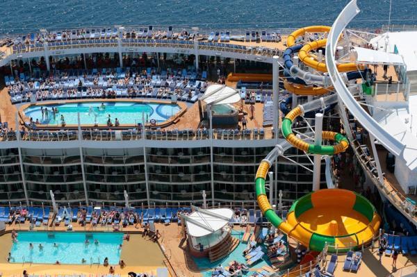 Самое большое пассажирское судно в мире (ФОТО)