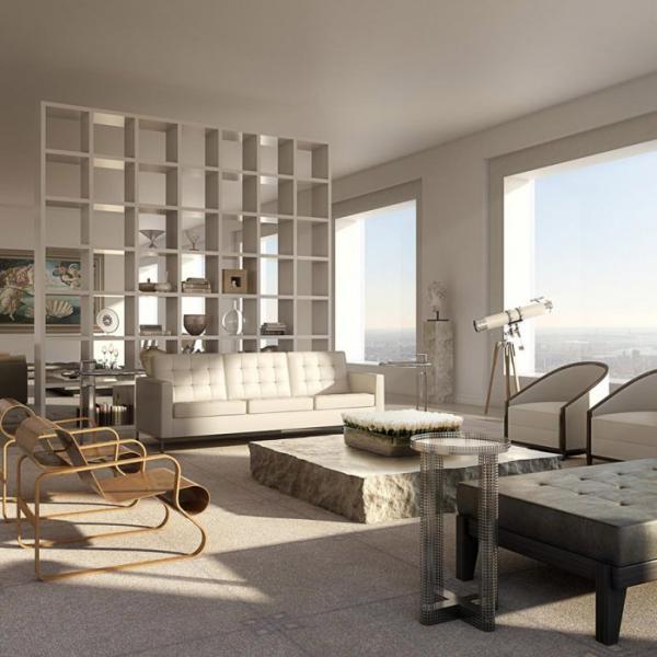 Роскошные апартаменты: пентхаус на высоте 426 метров в Нью-Йорке (ФОТО)