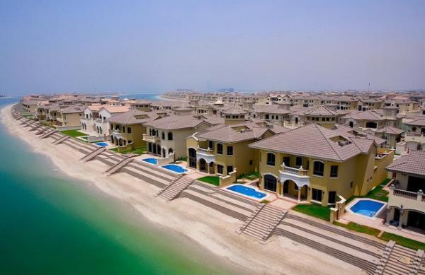 Потрясающее творение человека: острова Пальм в Дубаи (ФОТО)