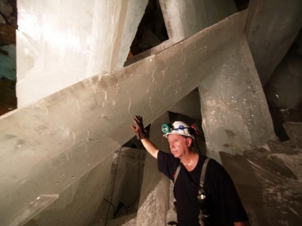 Сказочное место: пещера кристаллов в Мексике (ФОТО)