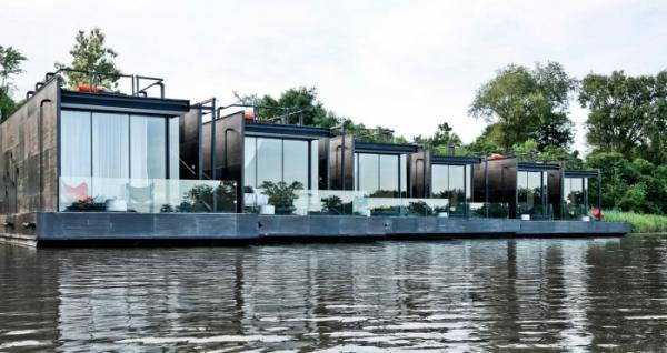 Плавучий отель в Таиланде (ФОТО)