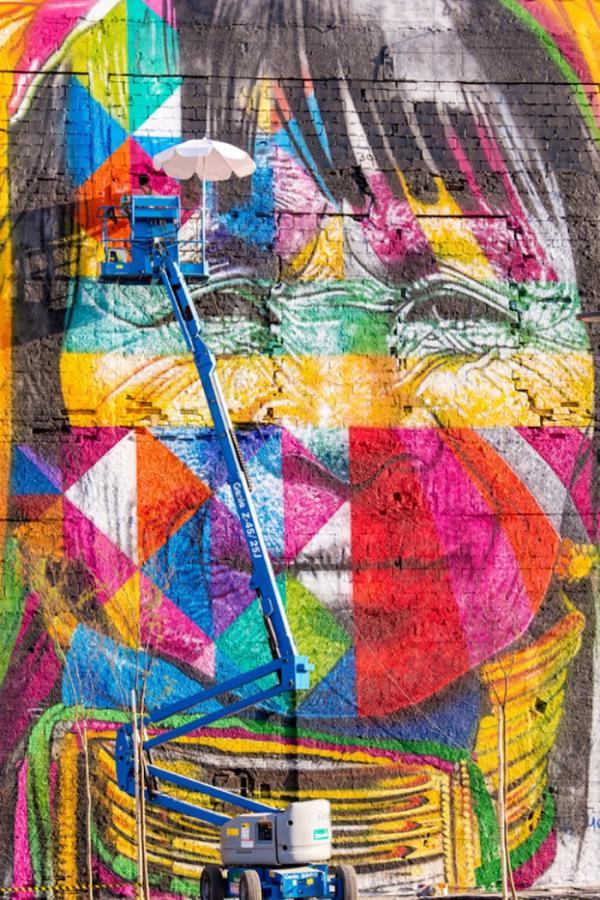 Самый большой в мире стрит-арт рисунок, сделанный одним человеком (ФОТО)