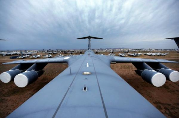 Крупнейшее в мире кладбище самолетов (ФОТО)