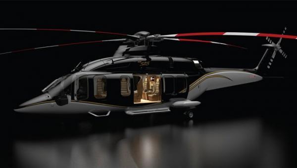Игрушка не для всех: проект самого роскошного вертолета в мире (ФОТО)