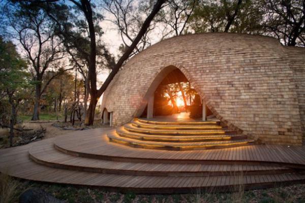 Оригинальный дом, являющий собой идеальное место для побега в дикую природу (ФОТО)
