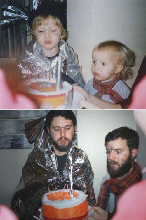 Курьезные снимки из серии «из детства – в настоящее» (ФОТО)
