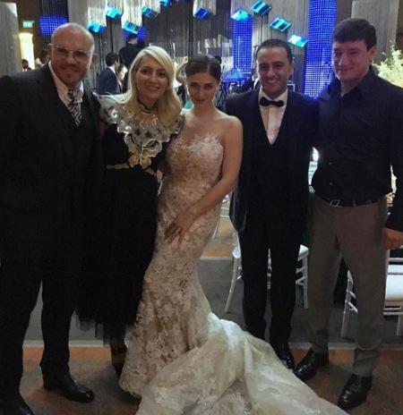 Дочь регионала Васадзе сыграла шикарную свадьбу (ФОТО)