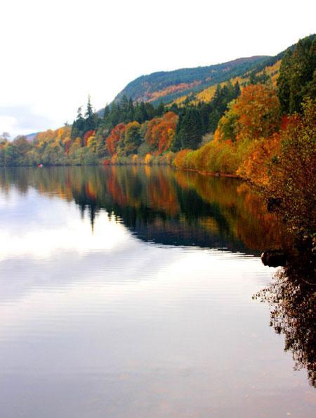 Популярная достопримечательность: овеянное легендами озеро Лох-Несс в Шотландии (ФОТО)