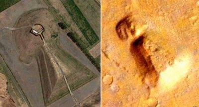 На Марсе нашли древнюю гробницу (ФОТО)